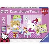 Hello Kitty: Kitty und ihre Freunde 2 x 24 Teile
