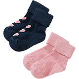 NAME IT Baby Strümpfe Doppelpack für Mädchen