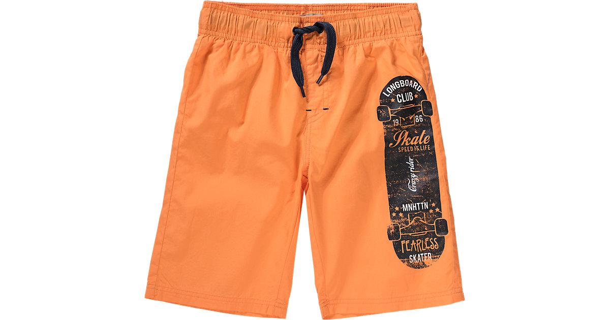 Badehose orange Gr. 116 Jungen Kinder
