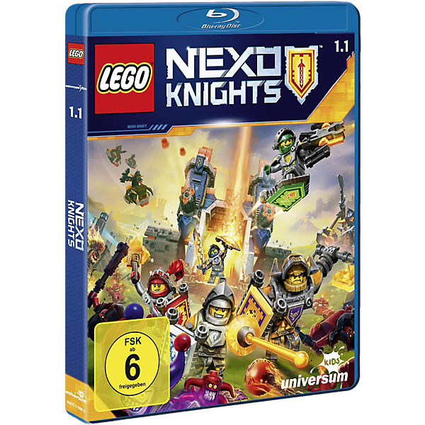 BLU-RAY Lego Nexo Knights - Staffel 1.1