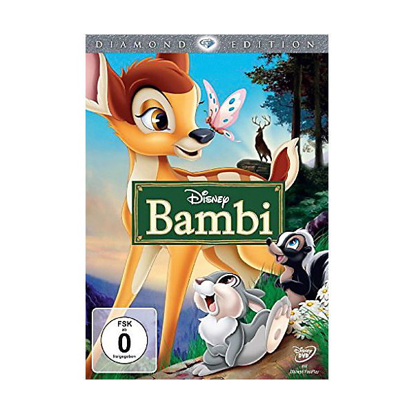 DVD Bambi - Diamond Edition