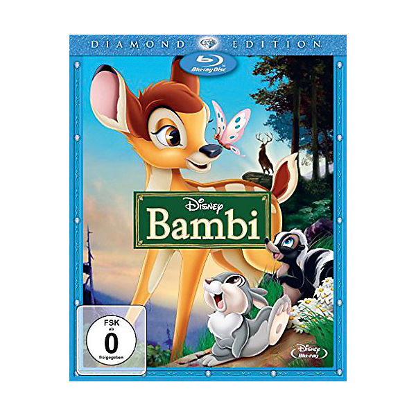BLU-RAY Bambi - Diamond Edition