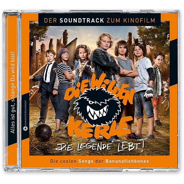CD Die wilden Kerle - Die Legende lebt! (Soundtrack)