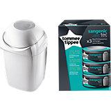 SANGENIC MK4 Hygiene Plus Komfort Windeltwister inkl. SANGENIC tec Windeltwister 3er-Packung Nachfüllkassetten