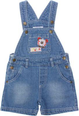 Комбинезон джинсовый для мальчика PlayToday - разноцветный