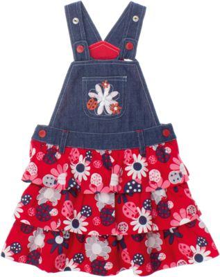Сарафан джинсовый для девочки PlayToday - белый