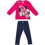 Комплект: футболка и леггинсы для девочки PlayToday