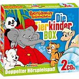 CD Benjamin Blümchen - Die Tierkinder Box