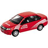 "Модель машины 1:34-39 LADA Granta ""Ралли"", Welly"