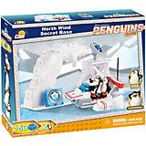 """Конструктор """"Секретная база пингвинов на Северном полюсе"""", Пингвины Мадагаскара, Cobi"""