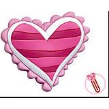 """Закладка-сувенир для книг  """"Полосатое сердце"""""""