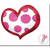 """Закладка-сувенир для книг """"Пятнистое сердце"""""""