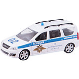 "Машина ""LADA LARGUS"", полиция, 1:38"