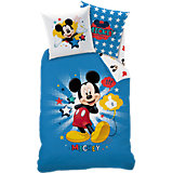 Kinderbettwäsche Disney´s Mickey Star, Renforcé, 135 x 200 cm