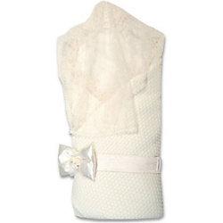 Конверт-одеяло на выписку Жемчужинка, Сонный гномик, молочный