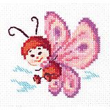Набор для вышивания крестом «Бабочка»