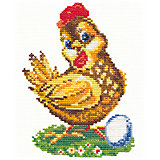 Набор для вышивания крестом «Курочка-ряба»