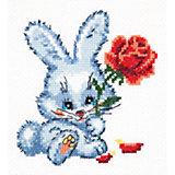 Набор для вышивания крестом «Зайчишка»