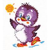 Набор для вышивания крестом «Крошка пингвиненок»