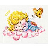 Набор для вышивания крестом «Милый ангелочек»