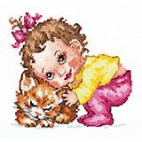 Набор для вышивания крестом «Ты, мой котёнок!»