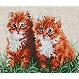 Набор для вышивания крестом «Рыжие друзья»