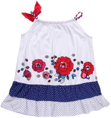 Платье для девочки Sweet Berry - синий/красный
