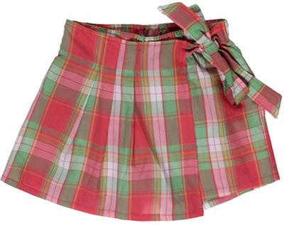 Юбка-шорты для девочки Sweet Berry - розовато-зеленый