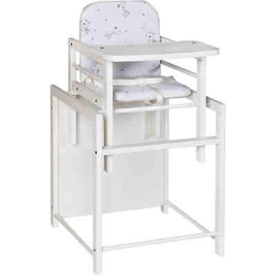 kombihochstuhl x tra ii buche massiv ge lt sternchen grau schardt mytoys. Black Bedroom Furniture Sets. Home Design Ideas