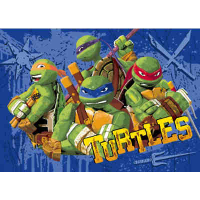 Kinderteppich Turtles, Tough Turtles, 95 x 133 cm