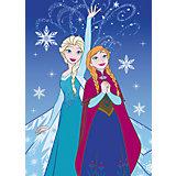 Kinderteppich Frozen, Lights, 95 x 133 cm