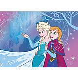 Kinderteppich Frozen, Let it go, 95 x 133 cm