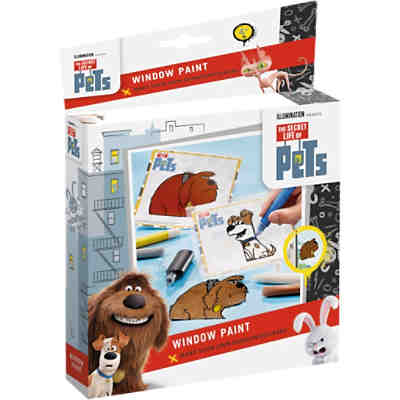 Kreativset Window Color Pets