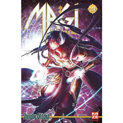 Magi, The Labyrinth of Magic, Band 21