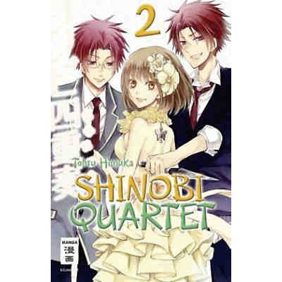 Shinobi Quartet, Band 2