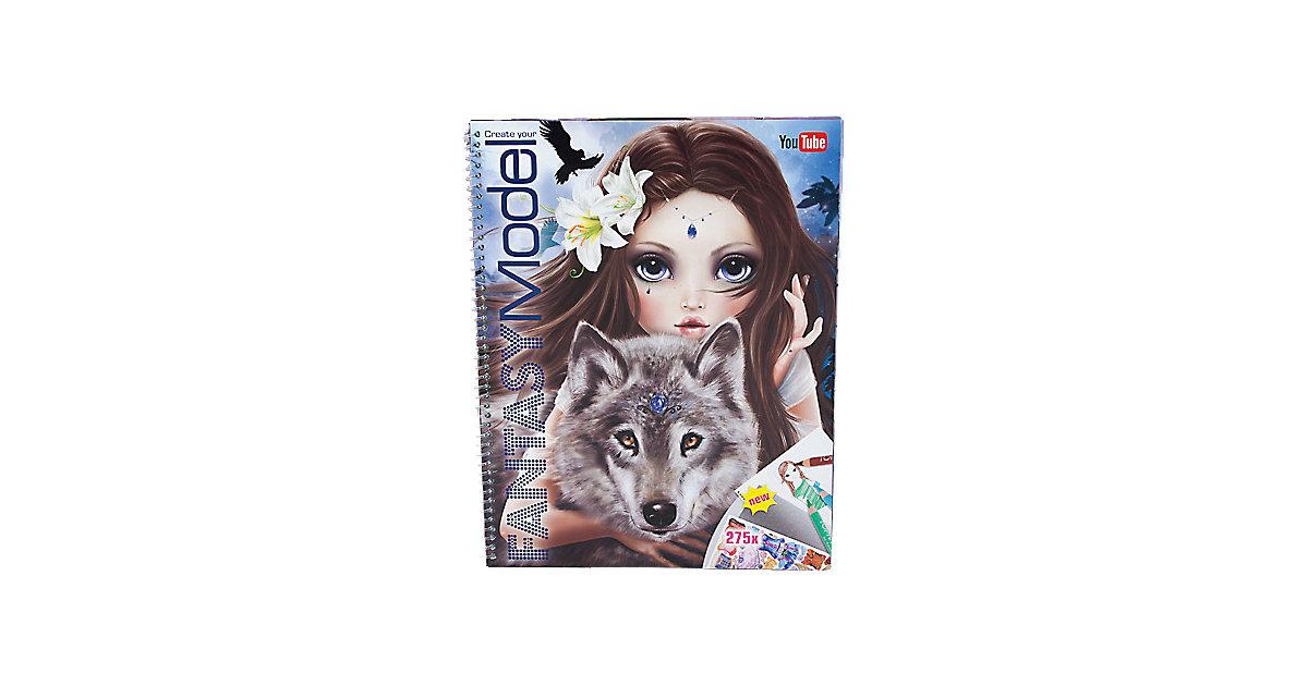 Create your Fantasy Model Malbuch mit Stickern