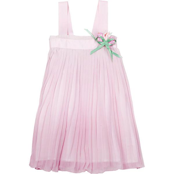 Платье для девочки Gulliver - белый/розовый