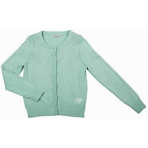 Кардиган для девочки Gulliver - зеленый