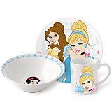 """Набор керамической посуды """"Принцессы Дисней"""" (3 предмета)"""