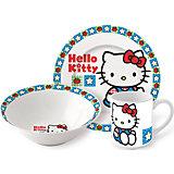 "Набор керамической посуды ""Hello Kitty"" (3 предмета)"