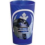 """Синий стакан """"Звездные войны"""" 260 мл"""
