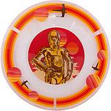 """Тарелка """"Роботы"""" (стекло, диаметр 19,5 см), Звездные войны"""