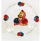 "Тарелка ""Лето"" (стекло, диаметр 19,5 см), Маша и Медведь"