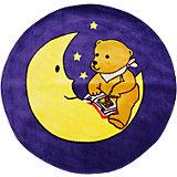 "Ковер ""Мишка на луне"", диаметр 1,2 м"