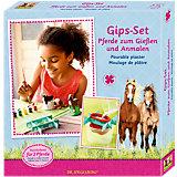 Gips-Set - Pferde zum Gießen und Anmalen Pferdefreunde
