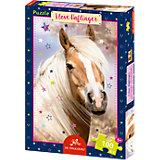 Boxpuzzle I love Haflinger Pferdefreunde (100 Teile)