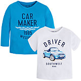 Комплект для мальчика: футболка с длинным рукавом и футболка для мальчика Mayoral