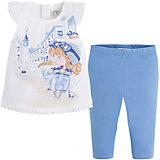 Комплект для девочки: футболка и леггинсы Mayoral