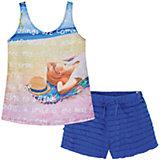 Комплект для девочки: футболка и шорты Mayoral