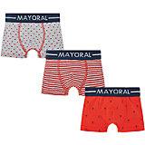 Трусы для мальчика, 3 шт. Mayoral